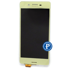 Lime Gold Original new For Sony Xperia X F5121 X Dual F5122 LCD display Screen with touch digitizer compete in free shipping