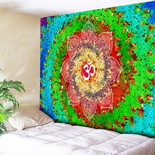 Mandala Tapestry Wall Hanging Colorful Abstract Bohemia Flower Hippie Decorative Tapestries Large Size Cloth Couch Blanket