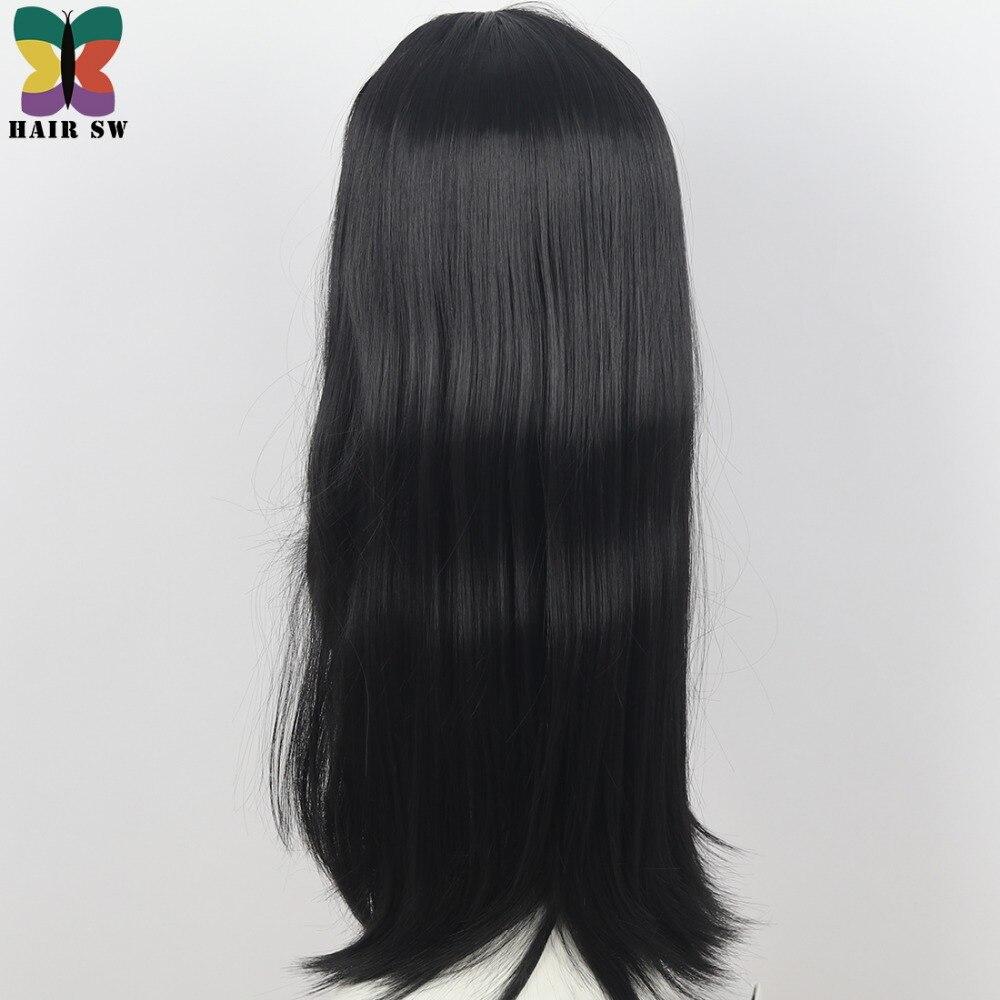 HAIR SW Långt Hår Värmebeständigt Rett Cosplay Wig Dräkt NO - Syntetiskt hår - Foto 3