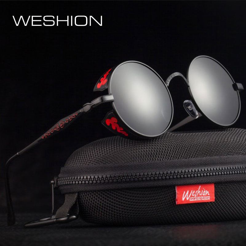 WESHION Steampunk Sunglasses Me