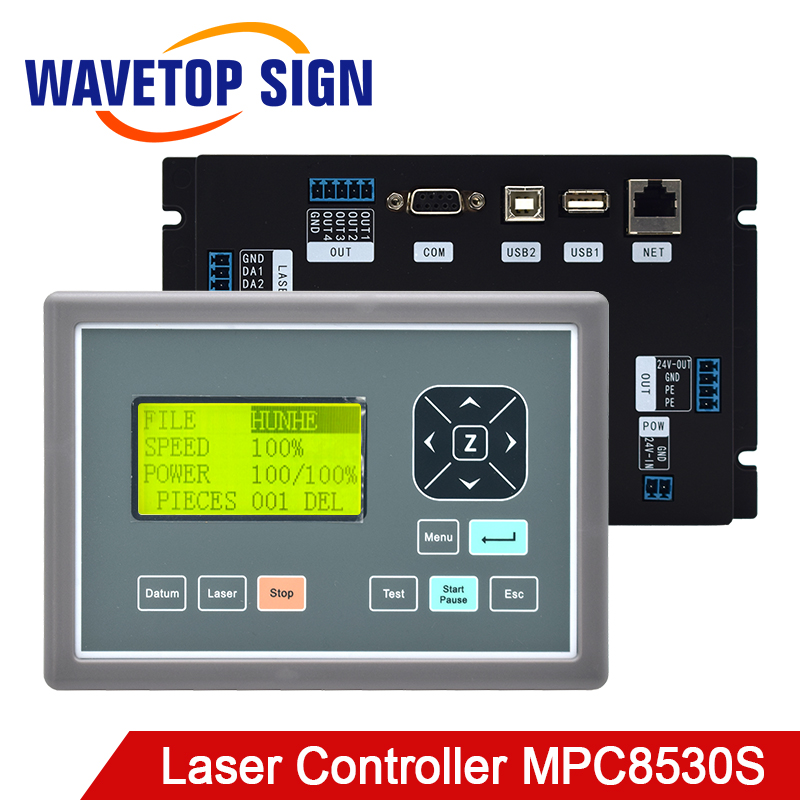 WaveTopSign Leetro MPC8530S CO2 Laser Controller DSP Motion Control System Board user for Laser Engraving and