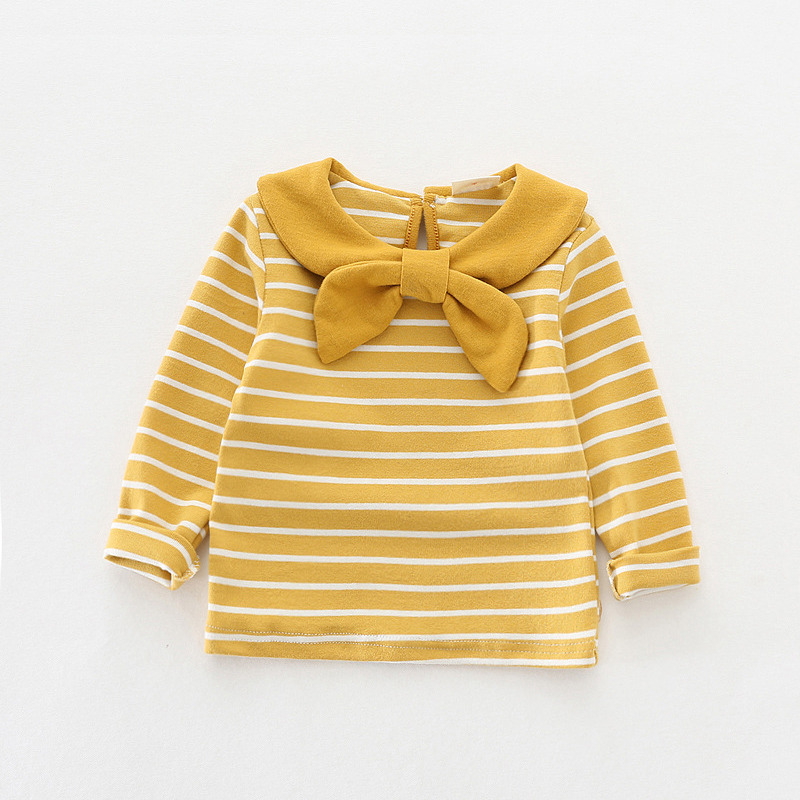 Full sleeve baby clothes striped girls t-shirt 2018 spring cotton baby girls t shirts fashion kids clothing infant bebes tops flora print girls long sleeve t shirt cotton children baby tops kids girl full t shirt baby girls clothing 2018 spring 2 8 years
