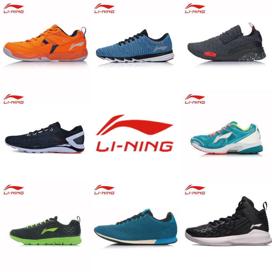 LINING Athletic-Shoe Running-Shoes Sports-Sneakers Man Autumn Spring Professional Clearance-Sale