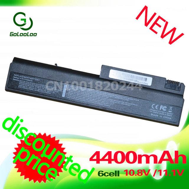 Golooloo 4400 mah batería del ordenador portátil para hp business notebook nc6400 nx5100 nx6100 nx6110 nx6115 nx6120 nx6110 series