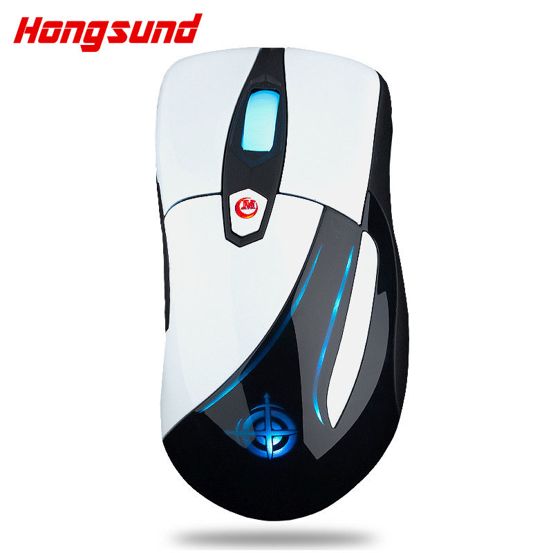 Hongsund MG3 Wired Optical Lights USB PC Computer Laptop Gamer Game Gaming Mouse Mice IE3.0 upgrade IO1.1CF CS LOL Gaming Mouse