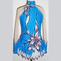 Новинка 2017 года костюмы для бальных танцев конкурс платья женщин кружево нейлон Стрекоза художественный спортивная одежда Высокое качеств