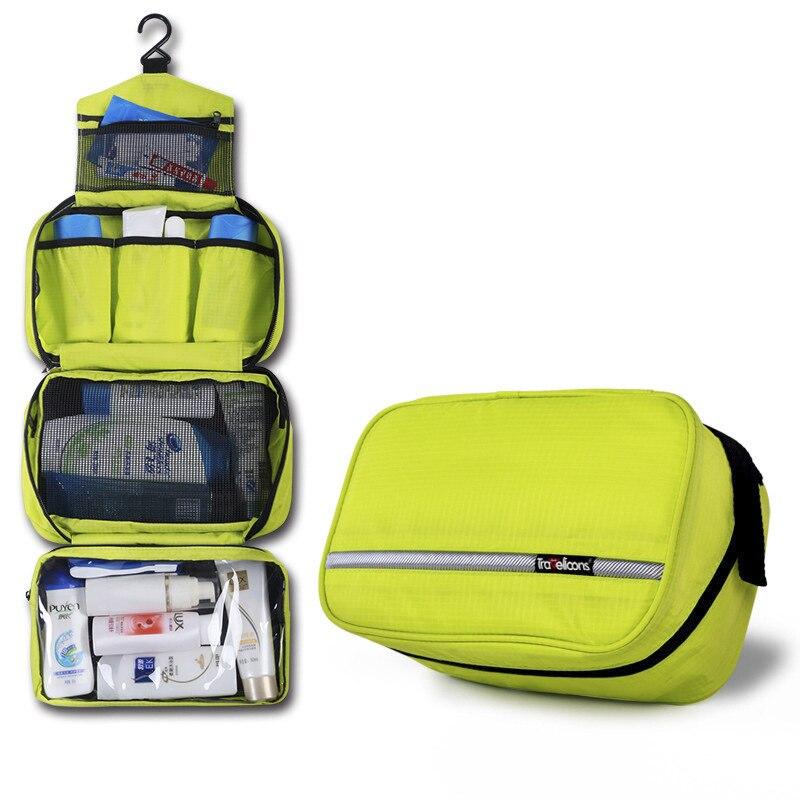 Reise Eine Lagerung Tasche Für Kosmetik Wasserdicht Wc Tasche Frau Make-up Fall Organizer Für Kosmetik Tasche Organizer Notwendig Kosmetik Taschen & Koffer Damentaschen