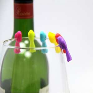 huanyi 6 pcs wine glasses drinking markers Glass set Box