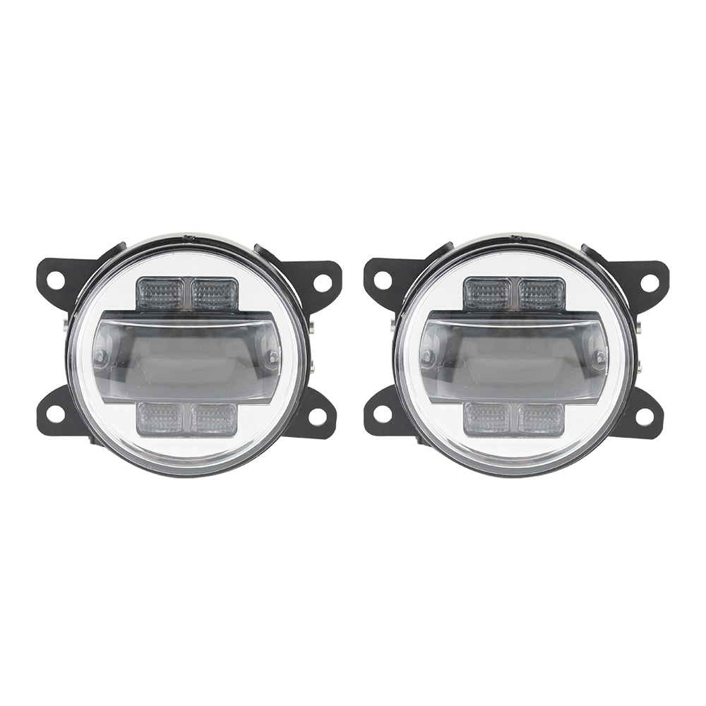 Car LED Fog Light for Frod Focus 2009 2014 LED Fog Lamp projector style LED Daylight