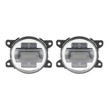 Автомобильная светодиодный светодиодная противотуманная фара для Frod Focus 2009 светодиодный 2014 Светодиодная светодиодный противотуманная фара стиль светодиодный дневной свет белый и Янтарный указатель поворота для автомобиля