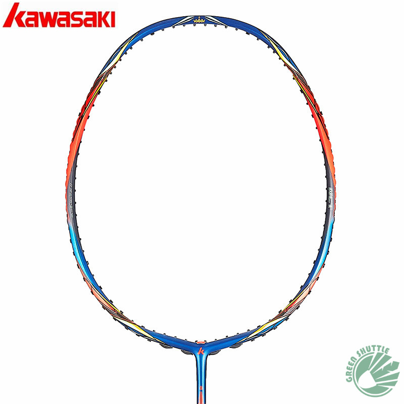 2020 Genuine Kawasaki Badminton Racket T-joinpower Strong Torsion King K9 K8 Spider 9900II 7200II  Enhanced Blade Frame Raquete