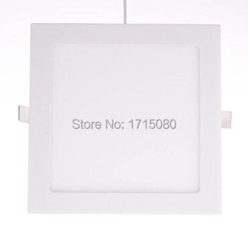 Us 19 24 30 Off Dicke Dimmbare 18 Watt Led Panel Licht Flach Quadrat Geführte Vertiefte Deckenleuchte 4000 Karat Für Zu Hause Luminaria Beleuchtung