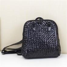 Caerlif 2016 женские рюкзаки ткань натуральная кожа школьная сумка для подростков черные женские рюкзак travel Bolsas Mochila Feminina