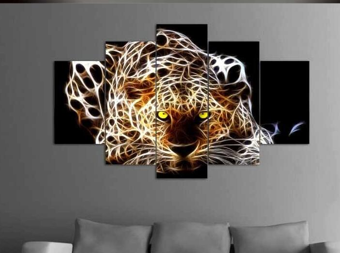 Leopard Wall Decor online get cheap leopard wall decor oil painting -aliexpress