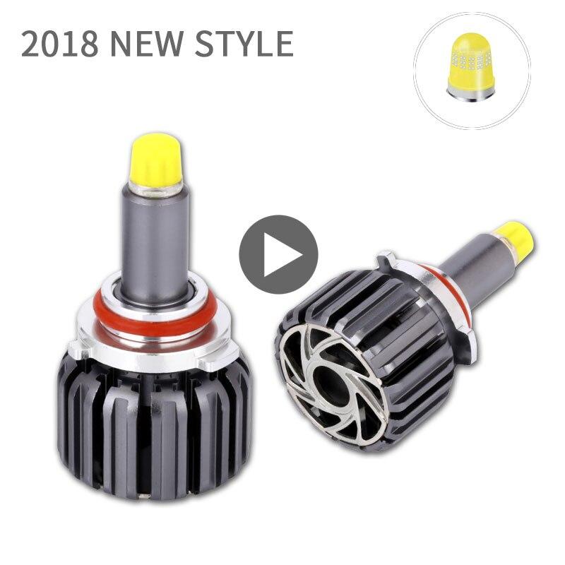 Turbo LED H7 Headlight Bulb 12V 360 Degree Super LED H1 H3 H8 H9 H11 9005 9006 9012 880 Auto Head Lamps Kit LED For Car Lights screenshot