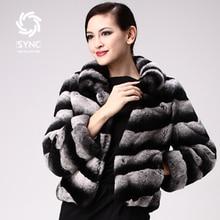 HOT New Rabbit fur Coats,Elegant Chinchilla style Ladies' rabbit coats,Rex rabbit fur jacket,slanting stripe fur garment FS04