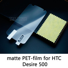 Glossy Lucent Frosted Matte Anti glare Tempered Glass Protective Film On Screen Protector For HTC Desire