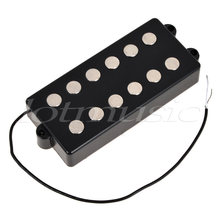 Bass Pickup Humbucker Double Coil 6 String for Musicman Bass Guitar Parts Accessories Black(China)