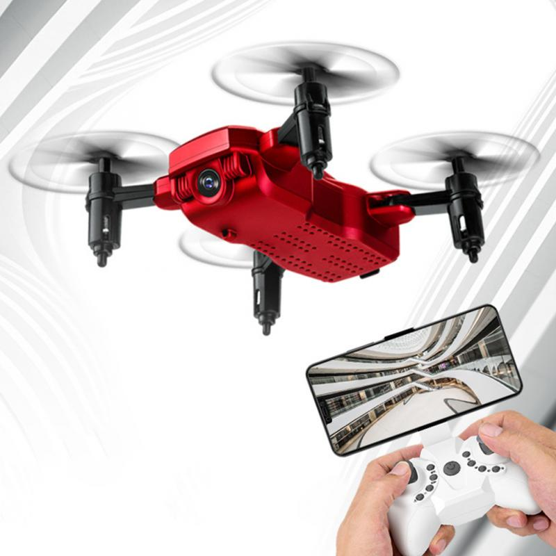 Drone-Altitude-Hold Quadcopter One-Key-Return Wifi Foldable Take-Off Mini JJRCH37 FPV