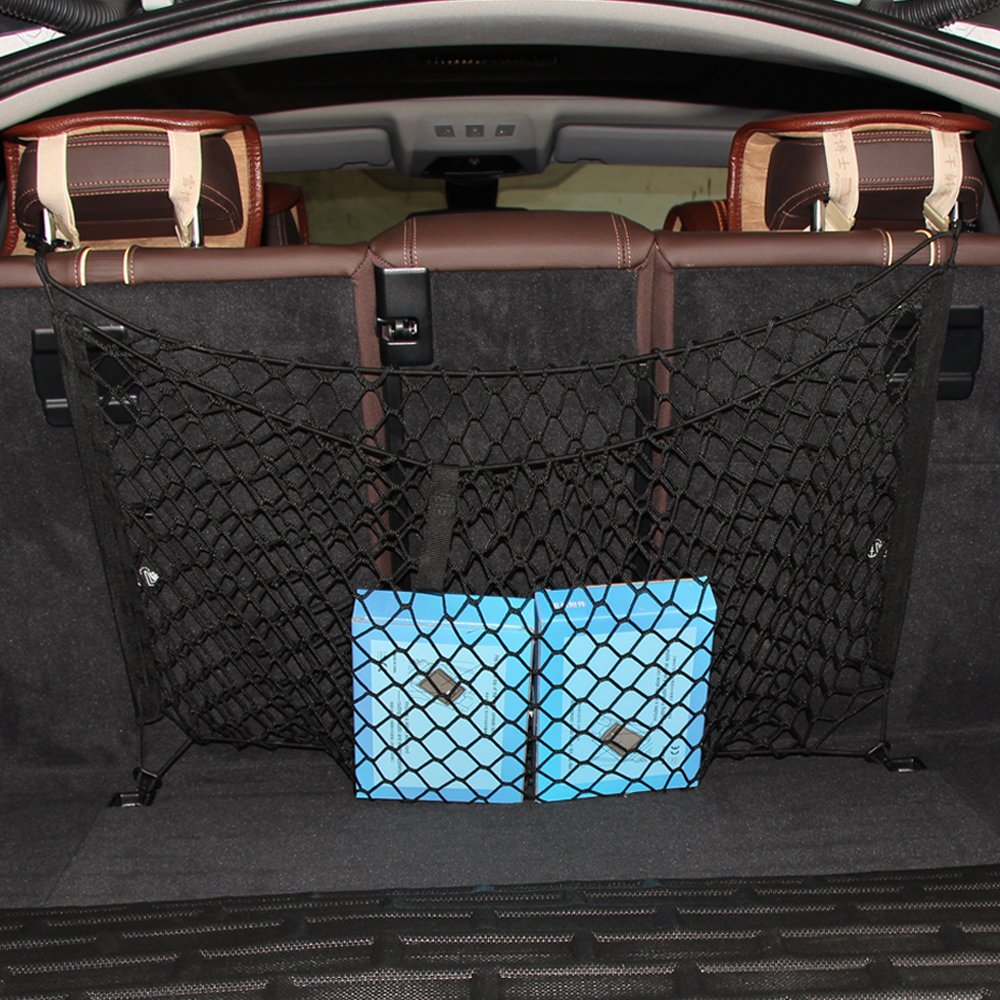 Vehicle Cargo Nets : New arrival envelope style car trunk cargo net fit for