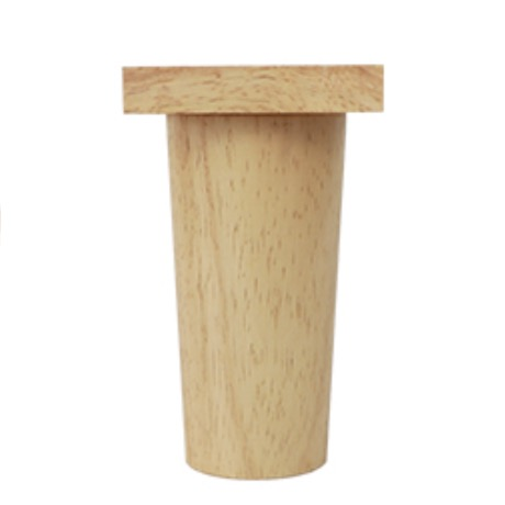 Reasonable 4pieces/lot H:11cm Diameter:4-6.5cm Rubber Wood Sofa Cupboard Legs Feet Furniture Support Foot Parts Warm And Windproof Furniture