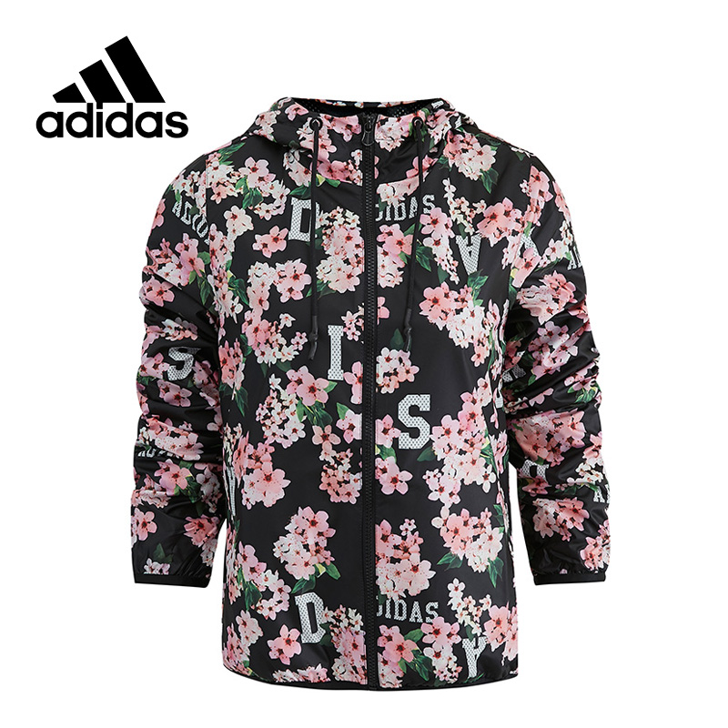 Adidas New Arrival Authentic NEO Breathable Women's Hooded Jacket Leisure Sportswear AY9703 original new arrival official adidas neo women s knitted pants breathable elatstic waist sportswear