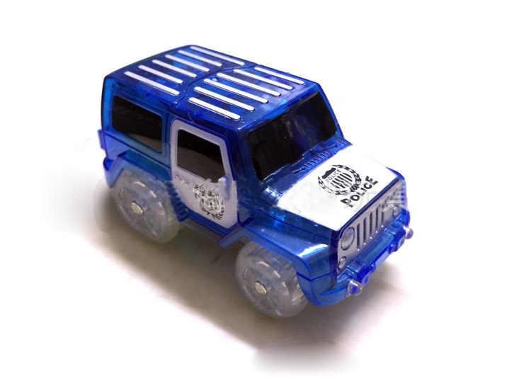 5.4cm eletrônica 5 led carro brinquedos com luzes piscando brinquedos educativos mágicos crianças festa de aniversário presente jogar com faixas