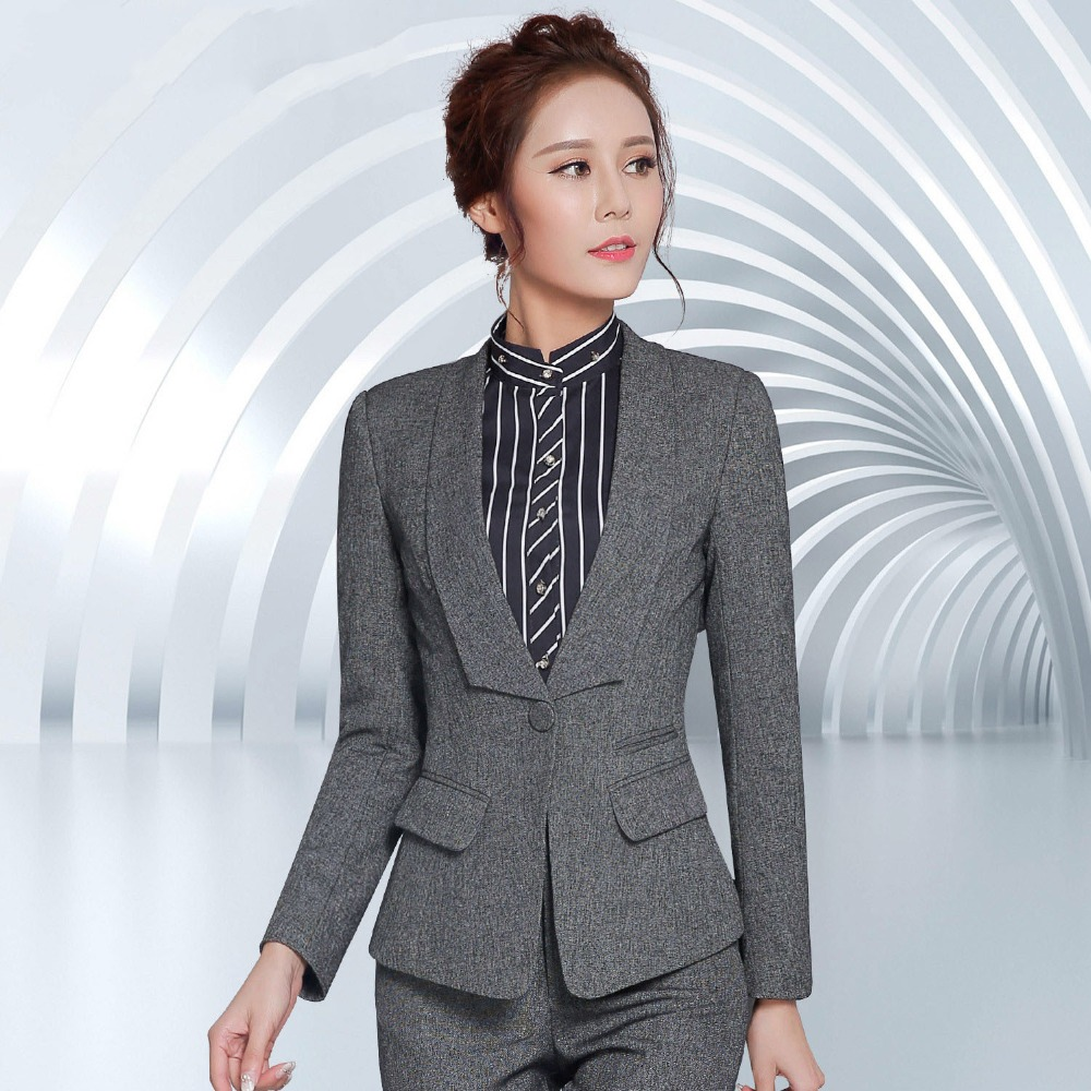 f74a41fe60b2 1pcs Women plus size jacket and blazers 2017 Spring Cotton blended splicing small  Suit Jackets ladies Skinny blazers Coats Girls-in Blazers from Women s ...