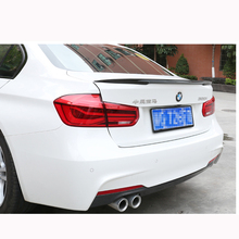 P Style For BMW F30 F80 M3 Spoiler Carbon Fiber Material M Performance 2012 - up 320i 328i 335i 326D