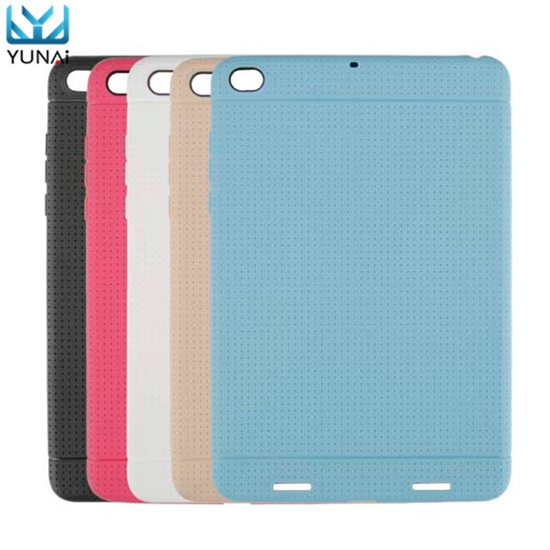 YUNAI TPU Back Soft Protective Case Cover For Xiaomi Mipad 2 High Quality For Mipad 2 Cover Case Soft Back Case For Xiaomi Case original xiaomi translucence tpu soft case for max