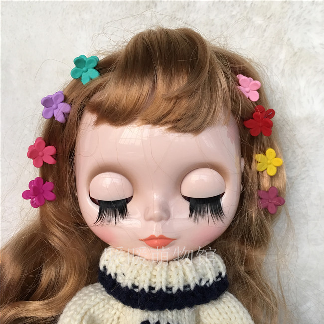 Dolls & Stuffed Toys Free Shipping 10pcs/lot Doll Accessories 1/3 1/4 1/6 1/8 Bjd Doll Hairpins Mini Hairpins Baby Girls Hair Decoration