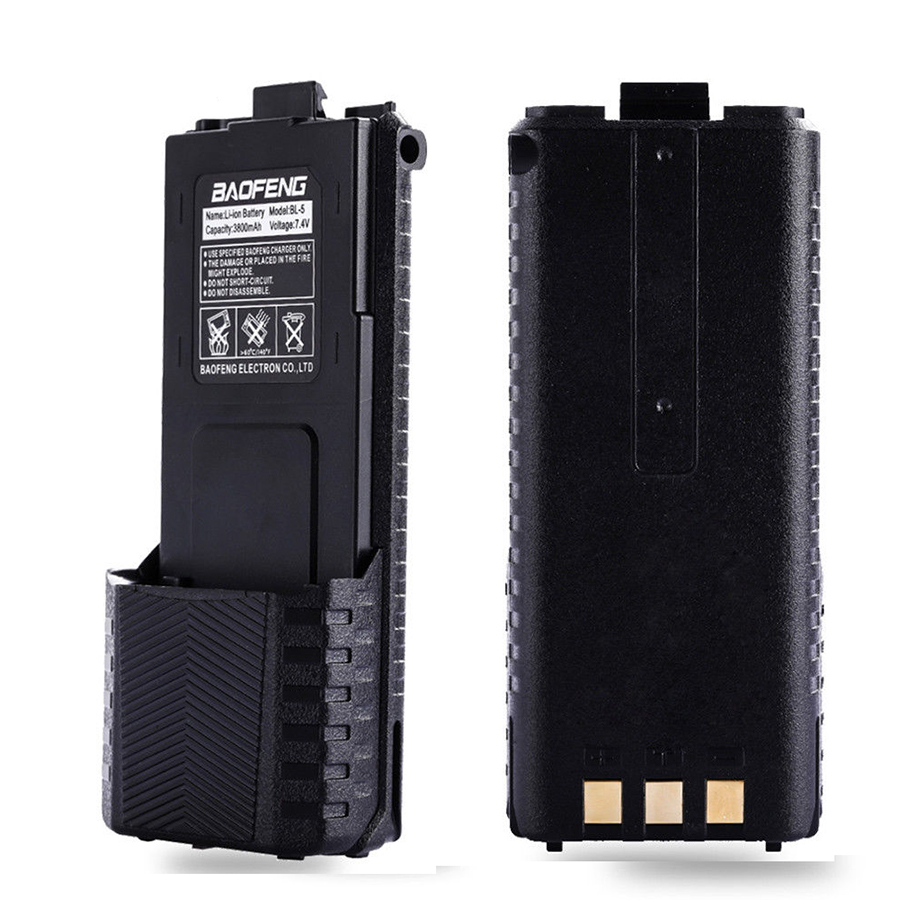 BL-5 Enlarge 3800mAh Baofeng UV-5R Battery Original 3800mAh Baofeng Battery for BF-F8 uv 5r uv5r uv-5re uv-5ra Baofeng Accessory (6)