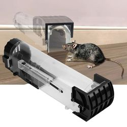 Nontoxic Rat Cage Catch Mice Rodent Control Catch Bait Hamster Mouse Trap Transparent Humane Live Mousetrap Mayitr