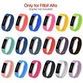 High Quality Silicone Band Soft Strap For Fitbit Alta Tracker Wristband Bracelet Watch Replacement Accessories Watchbands Newest