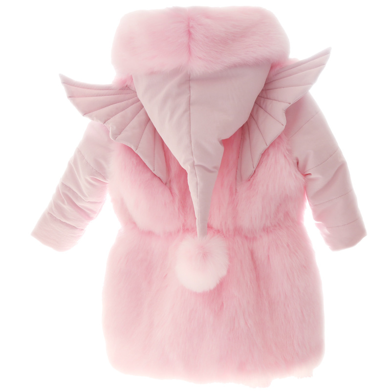 Brand New Baby Girl Winter Jacket Hood Design Thick Coat Cotton Parka Euro and American Style Jackets Snow Classic Overcoat new 2017 men winter black jacket parka warm coat with hood mens cotton padded jackets coats jaqueta masculina plus size nswt015
