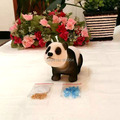 Ceaselessly Under a bit No Battery  Emulational Panda  Head Shaking Plush Animal Dolls Novelty Festival Gifts