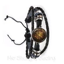 5aca6d1ed8adb Compass Bracelet Vintage Nautical Style Old World Sailing Charm For  Nautical Leather Bracelet Birthday Anniversaries Gift