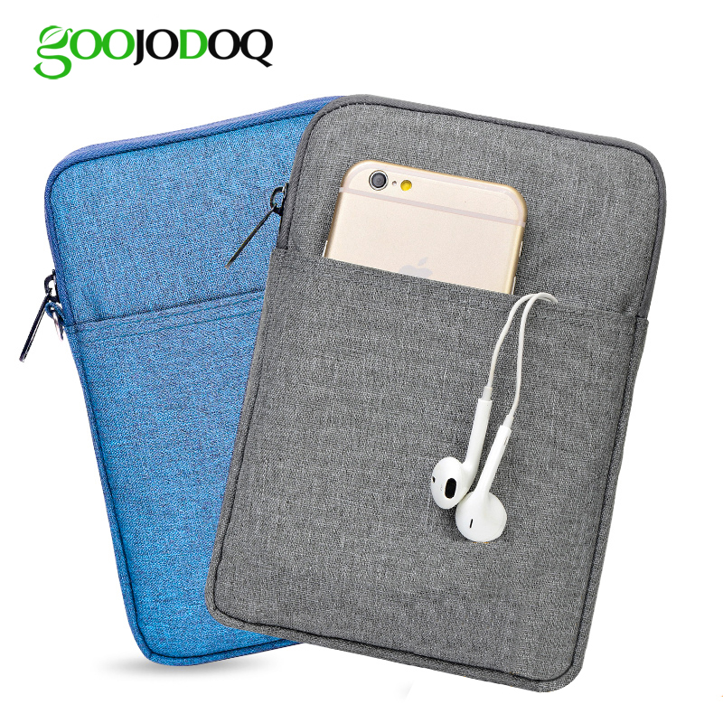 For iPad 9.7 2018 Case Bag Cover, GOOJODOQ Shockproof Sleeve for iPad 2018 Case 9.7 Protective Tablet Pouch A1893 A1954