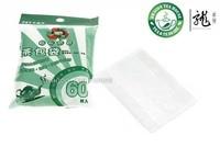 60 Pcs Paper Filter Tea Bags For Loose Tea Strainer 5 Bags