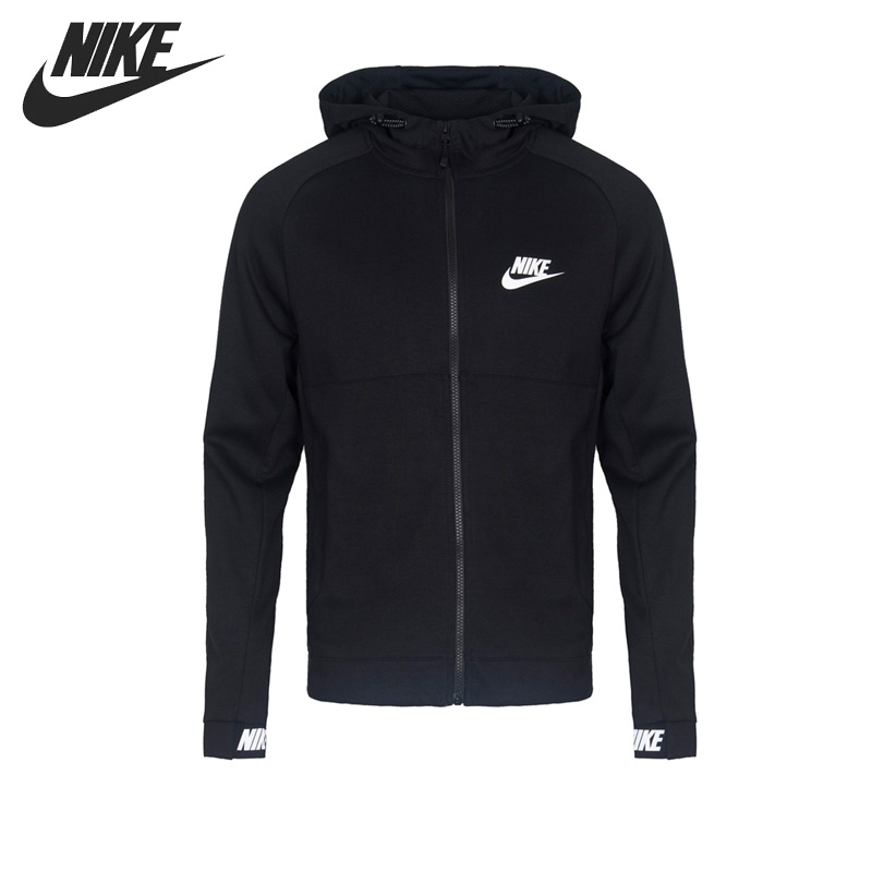 Original New Arrival NIKE NSW AV15 HOODIE FZ FLC Men's Jacket Hooded Sportswear original new arrival 2017 nike w nsw hoodie fz rstr ftr women s jacket hooded sportswear