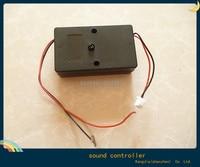 горячая! 12 в автомобиля из светодиодов газа лампочка чувствительность аудио звуковой контроллер активный модуль звук активных для автомобиля из светодиодов