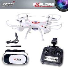 RC Drone с Камерой HD 0.3MP/2.0MP RC Квадрокоптер FPV Quadcopter 2.4 ГГц Гонки Дрон Вертолет Дистанционного Управления Игрушки дви D4