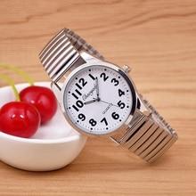 Мужские часы Новый известный бренд Relojes гибкие эластичный ремешок женщин нержавеющая сталь Роскошные Модные Аналоговые часы наручные часы