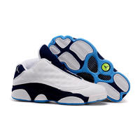 2019 Air US Jordan Retro 13 He Got Game Low Hornets Phantom Hyper Royal Women's Basketball Shoes Sport Outdoor Sneakers US5.5 9