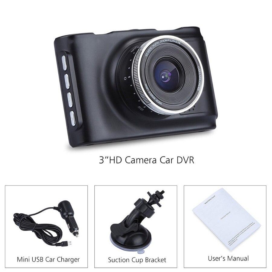 31080P Night Vision Car Camera Video Recorder Vehicle Dash Cam DVR SOS Emergen