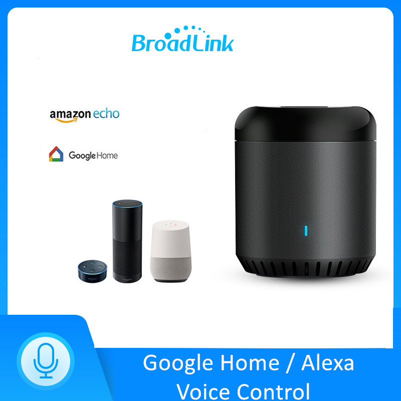 Broadlink RM Mini3 Universal WiFi 4G IR Remote Controller Via APP Control Smart Home Works With Alexa Echo Google Home Mini RM4