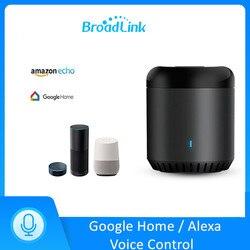 Broadlink rm mini3 universal wifi 4g ir controle remoto via app controle de casa inteligente funciona com alexa eco google casa mini