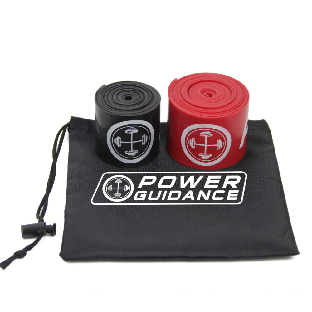 2Pcs Compression Muscle Floss Band WOD / Yoga / Boxing / MMA Training - Fitness və bodibildinq - Fotoqrafiya 4