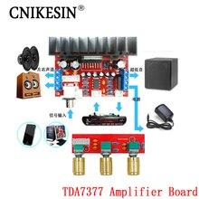 CNIKESIN diy TDA7377 усилитель совет Одноместный Питания Компьютера Super bass, 3-Канальный Звук и 2.1 усилитель мощности доска diy Sutie