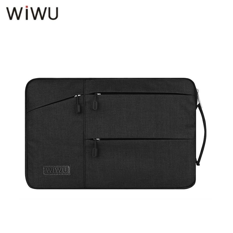 WIWU Waterproof Laptop Bag Case For MacBook Pro 13 15 Air Bag For Xiaomi Notebook Air